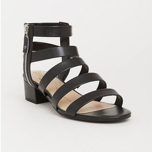 Torrid Strappy Heeled Sandal Size 9 Wide NWT